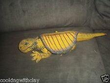 VINTAGE APPLAUSE DINOSAUR PLUSH DOLL FIGURE SCHOOL PREHISTORIC DIMETRODON TOY