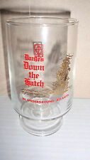 1976 DANTES DOWN THE HATCH IN UNDERGROUND ATLANTA SOUVENIR PEDESTAL GLASS