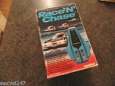 RACE 'N' CHASE BAMBINO HANDHELD TABLETOP GAME 1982 BOXED WORKING RETRO