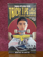 Trick Tips With Willy Santos 1998 Transworld Street Skateboarding VHS Video Tape