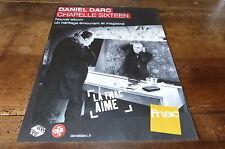 DANIEL DARC - Publicité de magazine / Advert !!! CHAPELLE SIXTEEN !!!