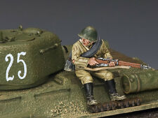 KING AND COUNTRY Red Army Sitting with Rifle  WW2 RA47 RA047