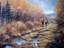 """Family Traditions""   NRA Hunting Print with English Setter - by Paco Young"