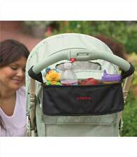 Pram Pushchair Stroller Bottle Cup Holder Buggy Drink Food Insulated Storage Bag