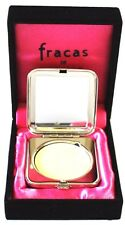 FRACAS DE ROBERT PIGUET SOLID PARFUM 2G IN SILVER METAL COMPACT NEW IN BOX RARE