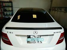 MERCEDES BENZ AMG STYLE CF CARBON FIBER TRUNK SPOILER FOR C204/C63 COUPE