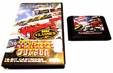 TURBO OUTRUN SEGA MEGA DRIVE OZISOFT GAME RARE SUIT COLLECTOR GENESIS NOMAD +FP!