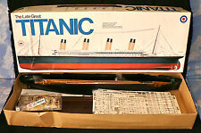 Maquette Entex 1/350 - The Late Great Titanic - 1976 - RARE !