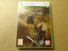 XBOX 360 GAME / CLASH OF THE TITANS - THE VIDEOGAME
