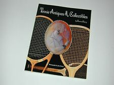 """""""Tennis Antiques & Collectibles"""" by Jeanne Cherry - 1995 - Paperback - Best Book"""