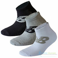 New Balance Sneaker Socks 3, 6, 9 Pairs Sports Running Trainer Ankle Mens Ladies