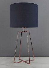 Hester Wire Base Table Lamp Copper light bedside lighting lounge touch