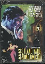 Scotland Yard: sezione omicidi (1961) DVD