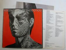 ROLLING STONES (LP 33T) TATTOO YOU - FRANCE 1981