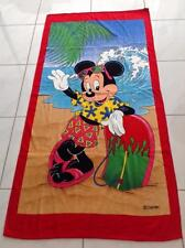 BEACH TOWEL  DISNEY MICKEY MOUSE MADE IN BRAZIL 100% COTTON