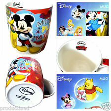 Set of 2 Disney Mugs Mickey Minnie Mouse and Pluto Characters