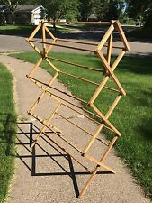 Princess No. 12  Wooden Clothes Drying Rack - Made in the USA! Nice Condition