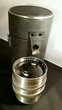Rare Carl Zeiss Jena Biotar 75mm F/1.5 Early Version Exakta Mount EXA 7.5cm f1.5