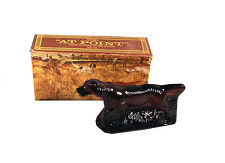 Vintage Avon Bird Dog At Point Deep Woods Aftershave Decanter w Box - 5oz