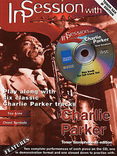 In Session With Charlie Parker Tenor Saxophone Book NEW
