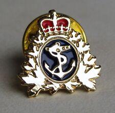 Canada - RCN Royal Canadian Navy Gold Plated  Lapel Pin