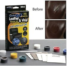 Restore It Quick, No Heat Leather Or Vinyl Repair Kit, Repair Leather Furniture