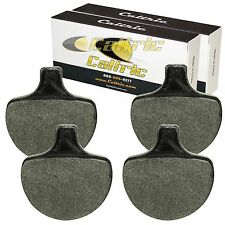 FRONT BRAKE PADS FIT HARLEY DAVIDSON FLHTC ELECTRA GLIDE CLASSIC 1984-1999
