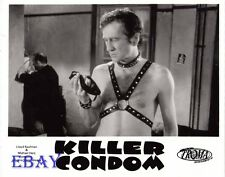 Barechested Man w/leather VINTAGE Photo Killer Condom
