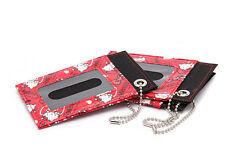 Cute Hello Kitty Cartoon Lanyard  ID Badge Card Holder Case Cover 2 sides