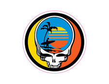 Grateful Dead Steal Your Face Endless Summer embroidered sew on patch