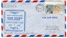 FFC 1962 100000th Transatlantic Flight New York USA Frankfurt Germany Manayunk