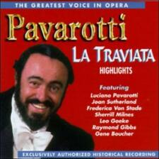 The Greatest Voice in Opera: Highlights from La Traviata by Pavarotti (CD-1995)