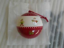 NEW IN PACKAGING AVON TINY TILLIA XMAS BAUBLE DECORATION WITH SOCKS 1-2 YEARS