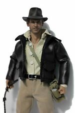 1/6 Scale Custom Indiana Jones Harrison Ford Suit For Hot Toys Body