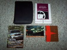 2000 Lincoln Navigator Owner Owner's Manual User Guide 5.4L V8 4WD