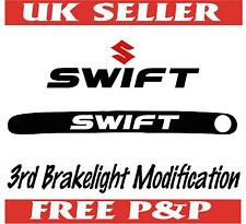 SUZUKI SWIFT 3RD BRAKE LIGHT STICKER MASK CAR VINYL