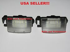 For Nissan 350Z 2003 2004 2005 WHITE 6000K LED LICENSE PLATE LIGHTS NEW!!!
