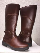UGG EVANNA STOUT LEATHER RIDING WATER RESISTANT BOOT US 6.5 / EU 37.5 / UK 5 NEW