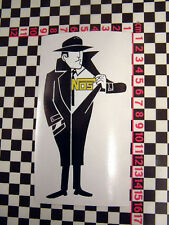 Nitrous Oxide Classic Car Sticker- Hot Rod Street Sleeper Old Skool Beetle