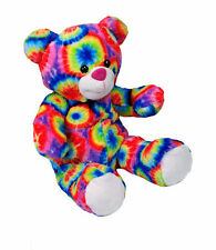 "Rainbow Bear 16""(40cm) by Teddy Mountain Build a Bear clothes fit"