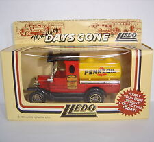 Lledo: Days Gone Model : 1920 Model T Ford Tanker : PENNZOIL MOTOR OIL : DG8004a