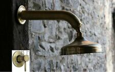 Shower head & Mixer copper bronze antique satin brass brushed nickel gunmetal