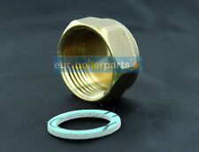"Stop End Cap 1"" Blanking Cap Brass Fits 30mm Thread"