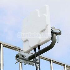 4G LTE Dual Mimo Antenna Outdoor SMA N Female Signal Strength Booster White