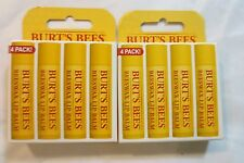 Burt's Bees Beeswax Lip Balm With Vitamin E & Peppermint 8-Pack