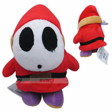 "Nintendo Super Mario Brothers Bros Shy Guy 7"" Stuffed Toy Plush Doll"