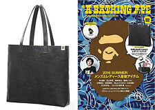 A Bathing Ape Bape 2016 Summer Collection Camo Leather Tote Bag From Magazine