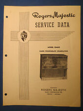 ROGERS MAJESTIC R118 R128 RADIO SERVICE MANUAL ORIGINAL FACTORY ISSUE
