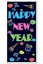 Neon NEW YEAR'S EVE Party Decoration DOOR Wall COVER