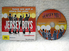 **JERSEY BOYS AUSTRALIAN STAGE SHOW PROMOTIONAL DVD SONGS & HIGHLIGHTS**